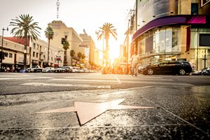 Hollywood Blvd is the epicenter of Hollywood tourism.