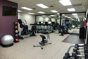 Fitness Center open 24 Hours